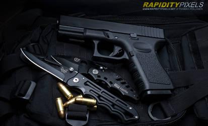 Glock G19 pt.4 by waakku