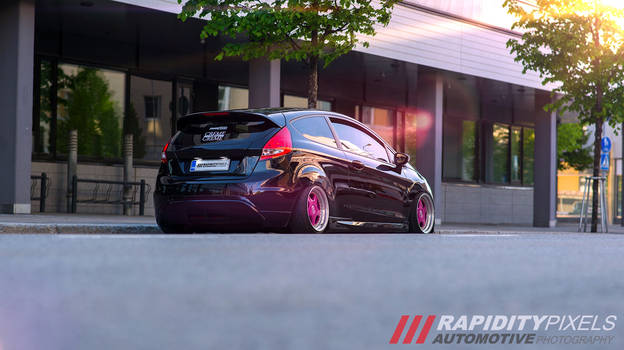 Fitted Ford Fiesta