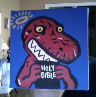 Devil Dinosaur by JamieCosley