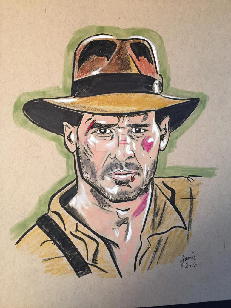 Indiana Jones by JamieCosley