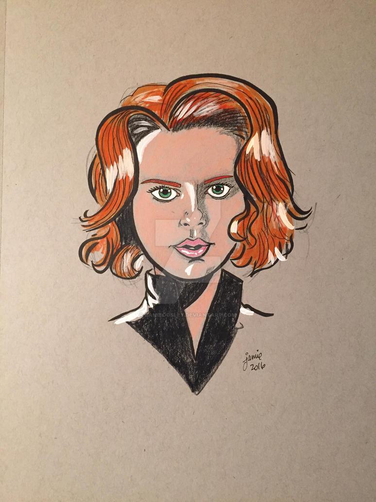 Black Widow by JamieCosley
