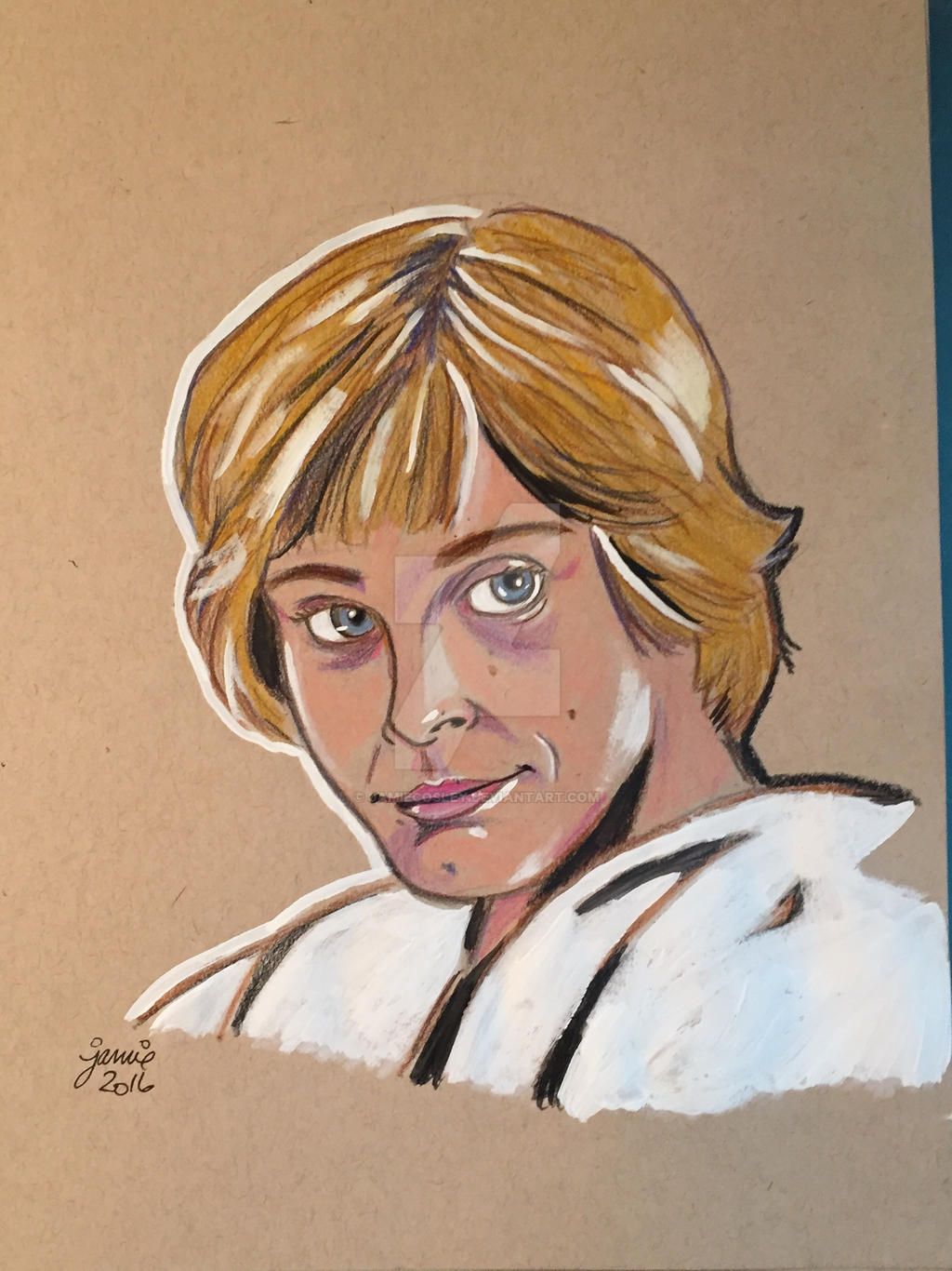Luke Skywalker by JamieCosley