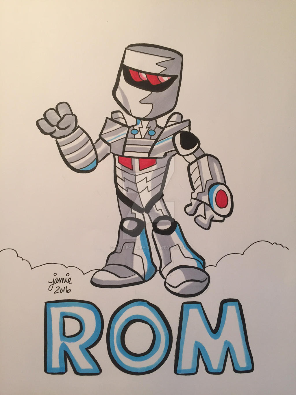 Rom the Space Knight by JamieCosley