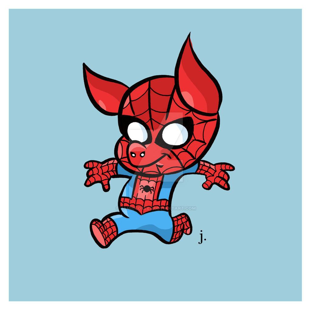 Spider-Ham by JamieCosley