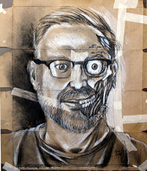 Zombie Self-Portrait