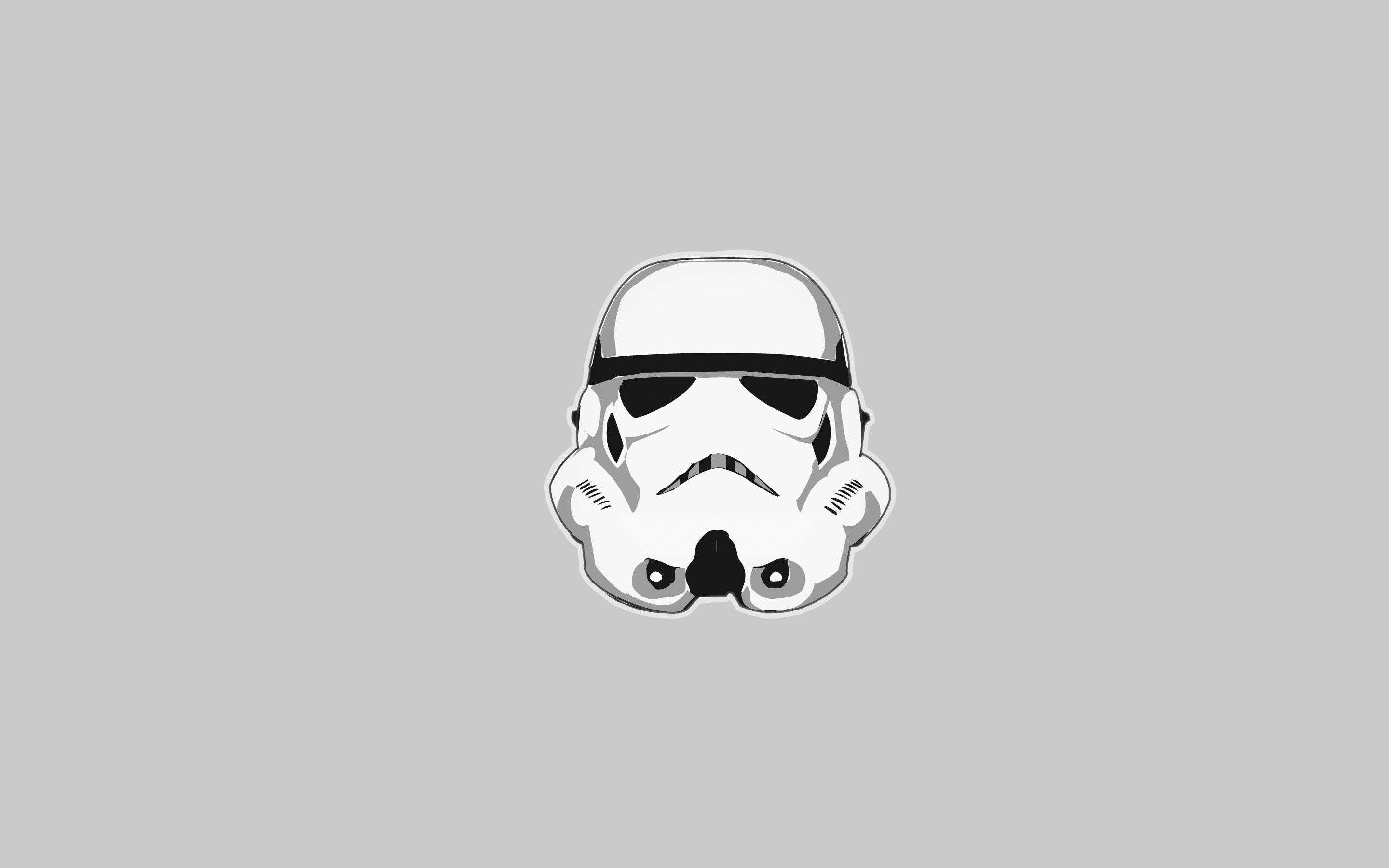 Stormtrooper Gray Wallpaper 2880x1800 by raifss on DeviantArt