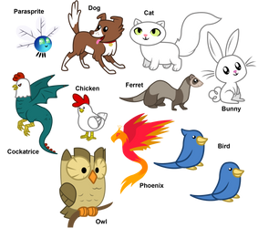 MLP Pets by Agirl3003