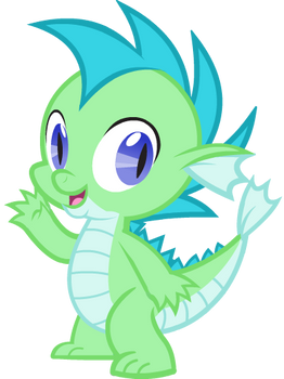 David the Water Dragon - Commission