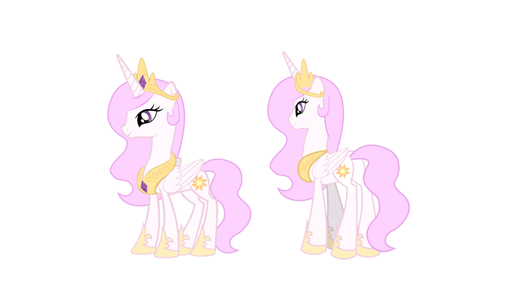 Young Celestia by Agirl3003
