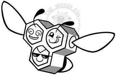 The Honey Hooligans Logo