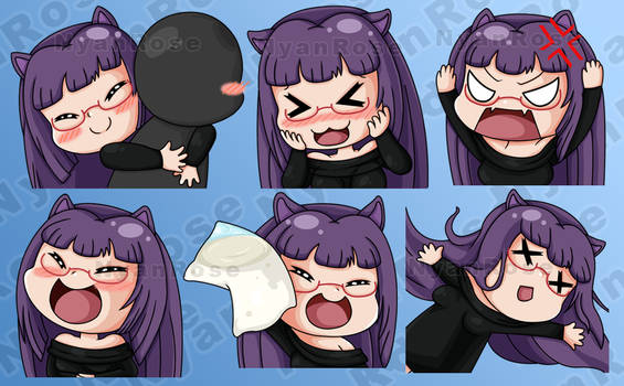 More Twitch Emotes - Commission