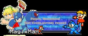 Mega Man signature