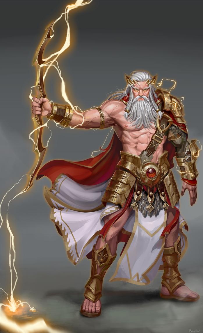 Zeus Concept by babeskull16