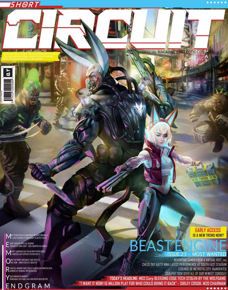Short Circuit magazine cover