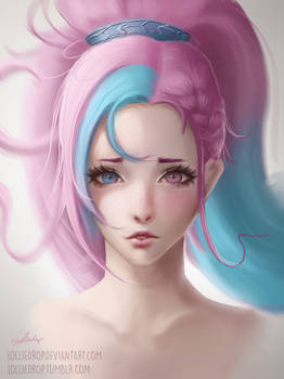 YOUTUBE SPEEDPAINT - Cotton Candy