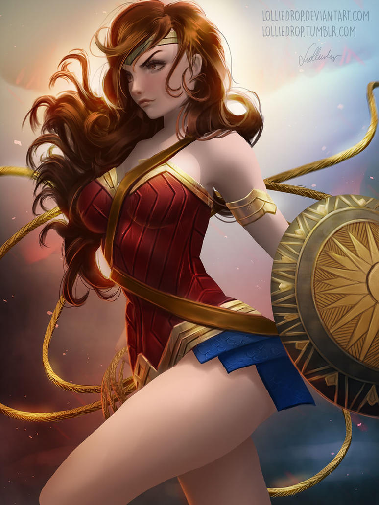 Wonder Woman by Lolliedrop