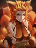 VULPIX - Pokemon Girl Series by Lolliedrop
