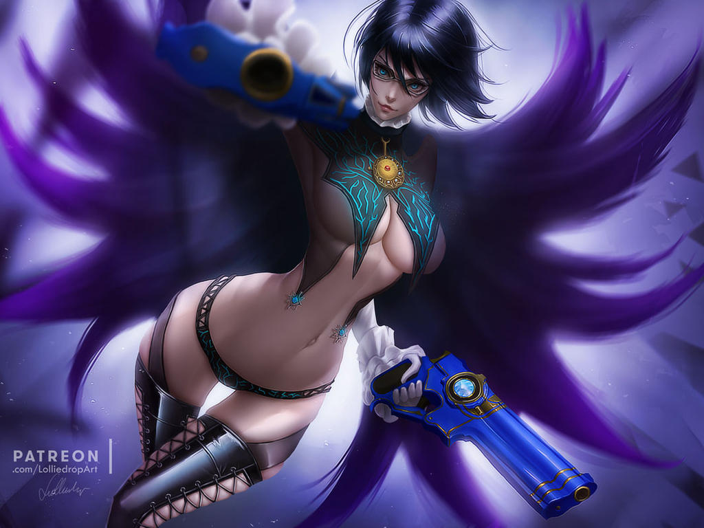 Bayonetta 2 by Lolliedrop