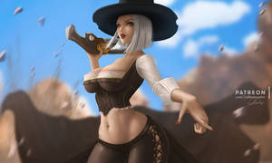 Ashe by Lolliedrop