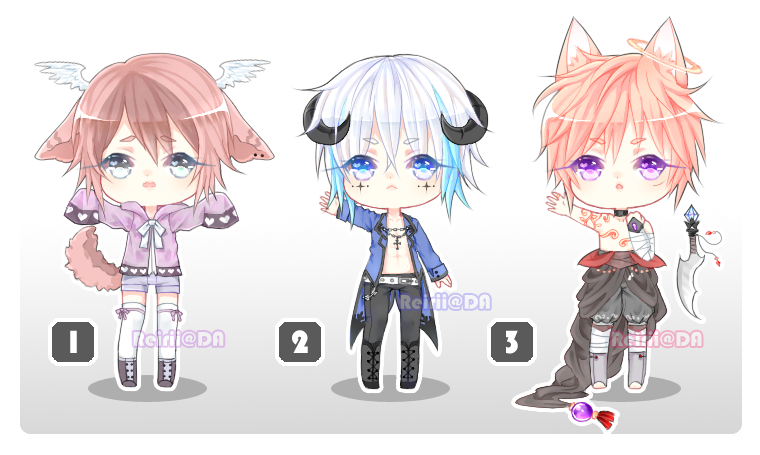 Auction Set 3 {CLOSED} by Reirii