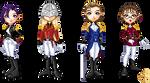 Gundam Wing : OZ - doll set