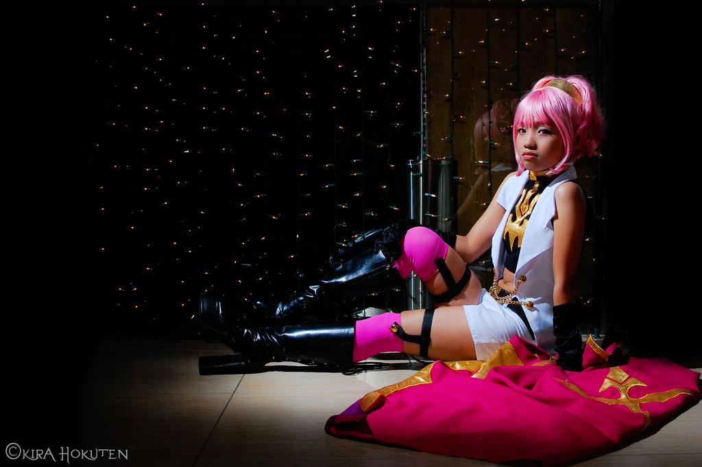 Pink Loli Knight by KiraHokuten