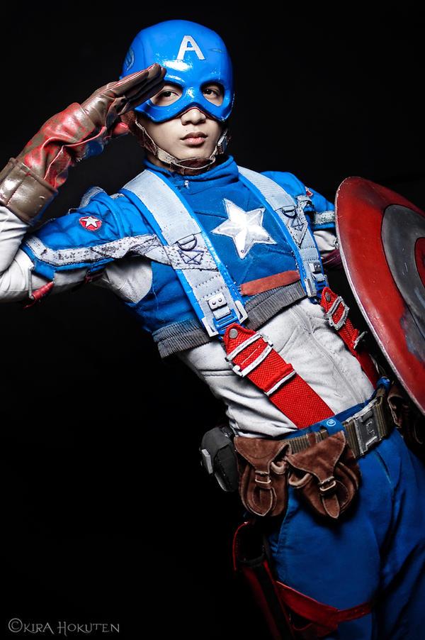 Captain America by KiraHokuten