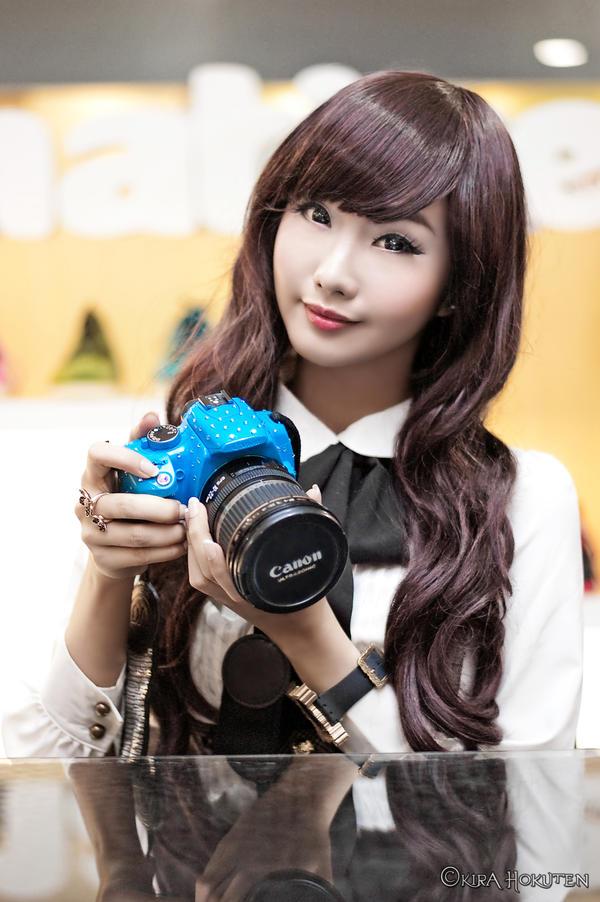 Alodia Gosiengfiao - Canon 350D by KiraHokuten