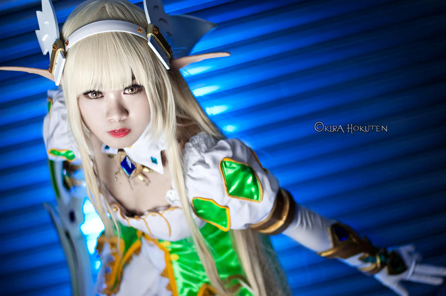 Elsword - Rena Grand Archer by KiraHokuten