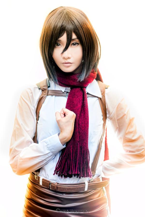 Mikasa Ackerman (Alodia) - II by KiraHokuten