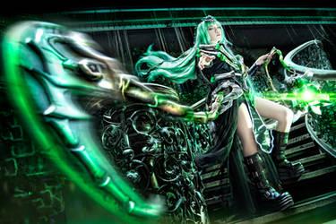 League of Legends - Female Thresh by KiraHokuten