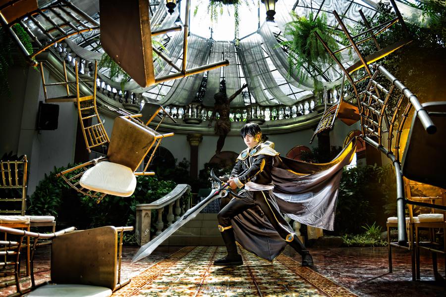 Magic Knight Rayearth - Lantis by KiraHokuten
