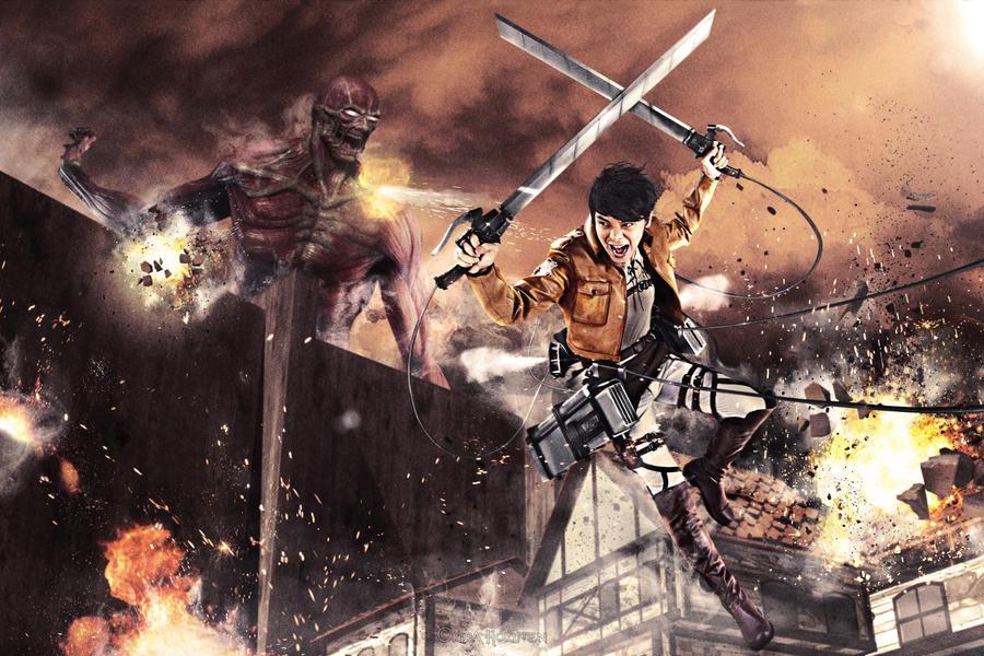 Attack on Titan - Eren by KiraHokuten