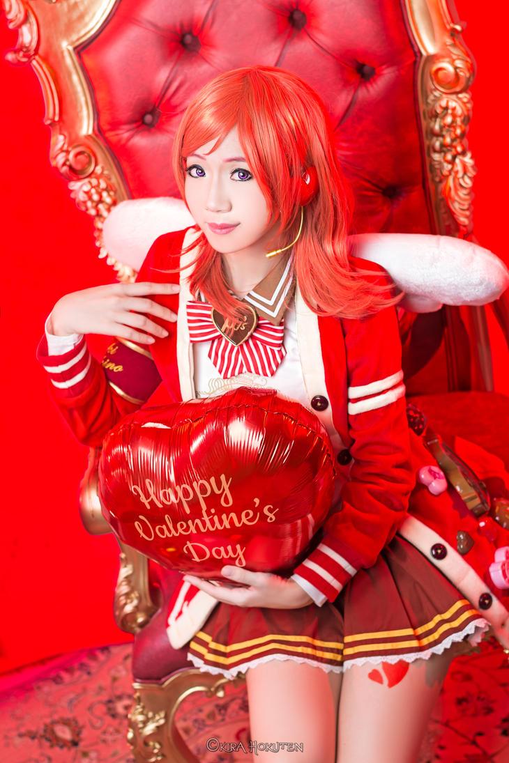 Lovelive: Maki - Valentines Idolized by KiraHokuten