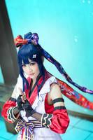 Love Live! Ninja Idolized - Umi by KiraHokuten