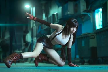 Final Fantasy VII - Tifa Lockhart by KiraHokuten