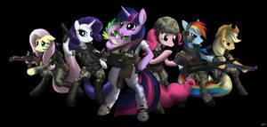 My Little Pony Colonial Marine