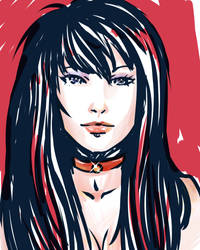 Sailor Mars speed paint by IPPO-Lita