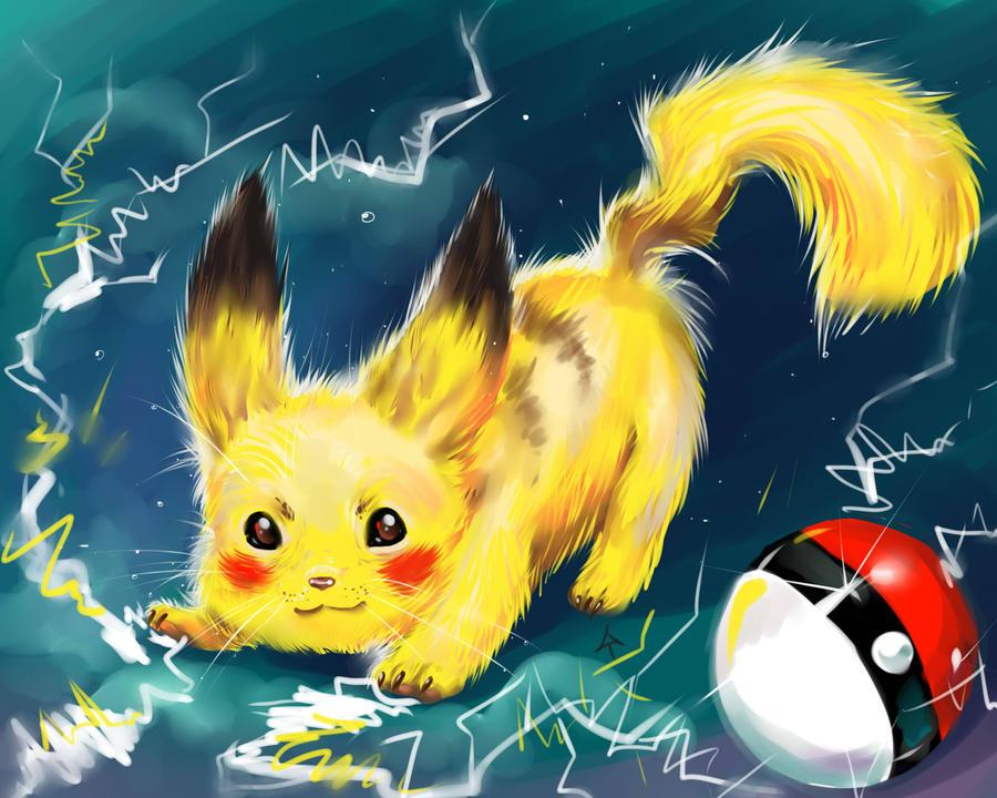 Pikachu! by IPPO-Lita