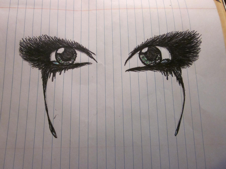 Crying eyes by THExMADxMILLINER on DeviantArt