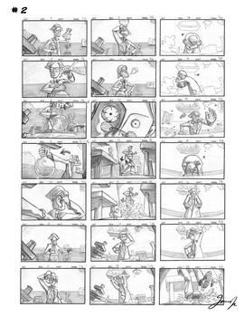 Storyboard panels 2
