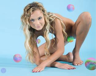 Bubble Babe by Sabhantas
