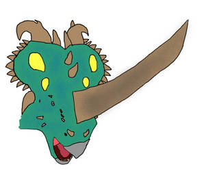 If Ark gave the Pachyrhinosaurus a horn by Slade824