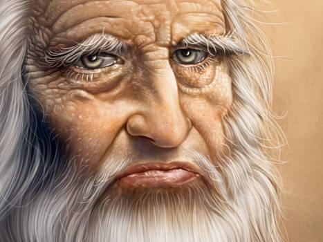 Leonardo detail by mahirates