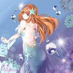 Commission -  Underwater by unii-bunny