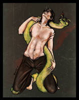 Snake Charmer by slytherinfiend