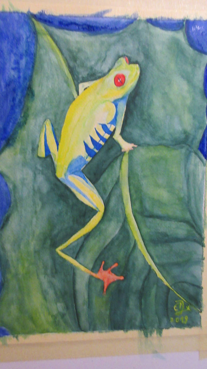 now finished frog :) by edxart