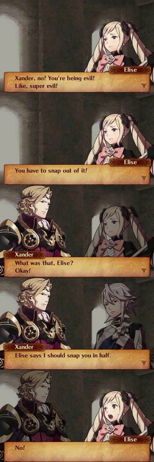 Birthright Xander in a Nutshell