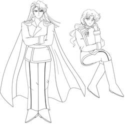 Kunzite and Zoisite (Outlines only)