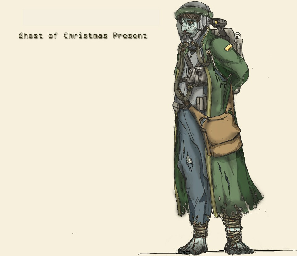 Ghost of Christmas Present by Moragot on DeviantArt